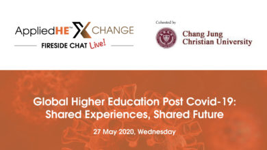 Photo of Overcoming Covid-19 in Higher Education: AppliedHE Xchange Fireside Chat