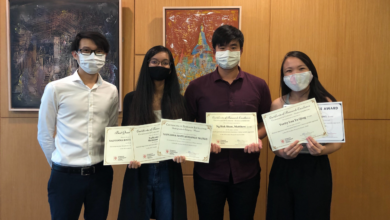 Photo of SMU School of Social Sciences Psychology Students bag five research awards including Best Research