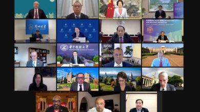 Photo of UM joins China-US University Presidents' Online Forum with 19 universities