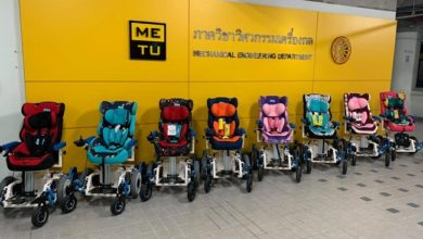 Photo of Thammasat's Engineering Students Create Electric Wheelchair for Children with Cerebral Palsy and ALS