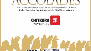 Photo of Chitkara University Ranks Among the 'Tech-100 Higher Education Institutions of India' by APAC News Network